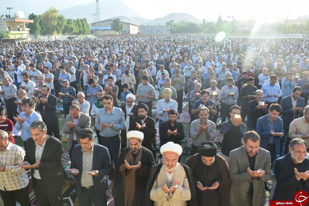برپایی نماز عید فطر در سراسر استان فارس