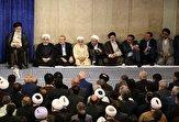 باشگاه خبرنگاران -مسئولان نظام و سفرای کشورهای اسلامی با رهبر انقلاب دیدار کردند