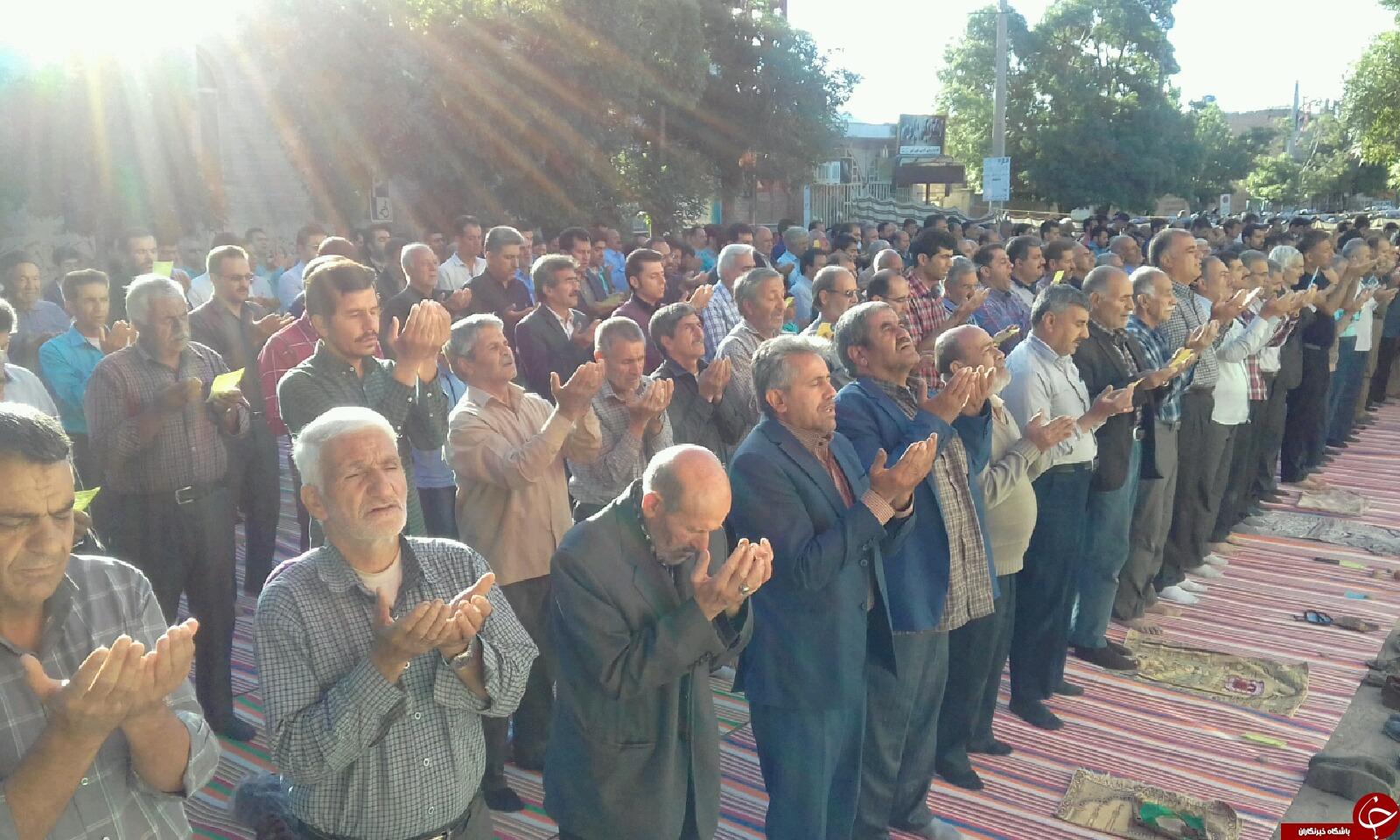 برپایی نماز عید فطر در سراسر استان فارس + تصاویر