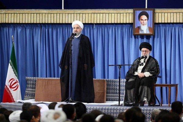 سخنان و تغییر لحن دشمنان در اراده ملت و مسئولان ایران تأثیری ندارد/ پس از یکسال صبر راهبردی، اگر از تعهدات خود در برجام بکاهیم، هیچ کس نمیتواند ما را ملامت کند