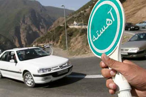 محدودیتهای ترافیکی جادههای کشور تا روز شنبه اعلام شد