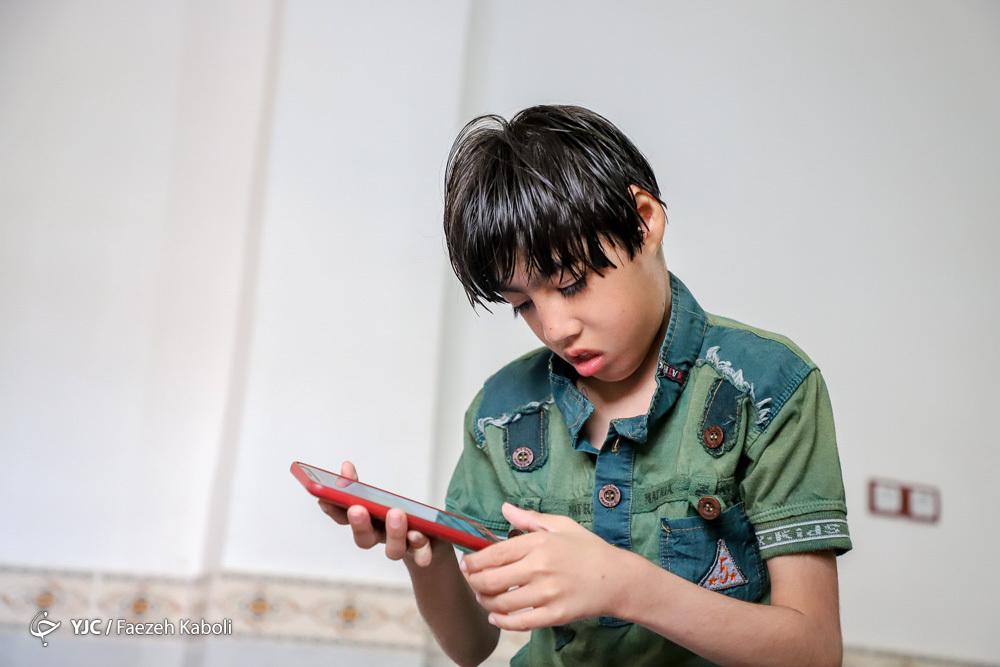 مُنیب؛ کودک خاص سیلزده