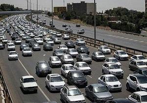 ترافیک سنگین در آزادراههای زنجان به تبریز و قزوین