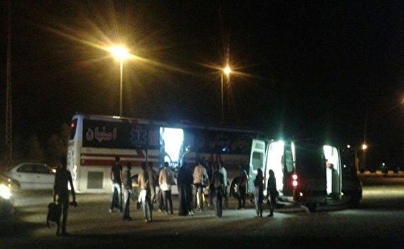 آخرین اخبار از حریق بندر شهید رجایی/جاده چالوس و هراز عصرفردا یکطرفه میشود