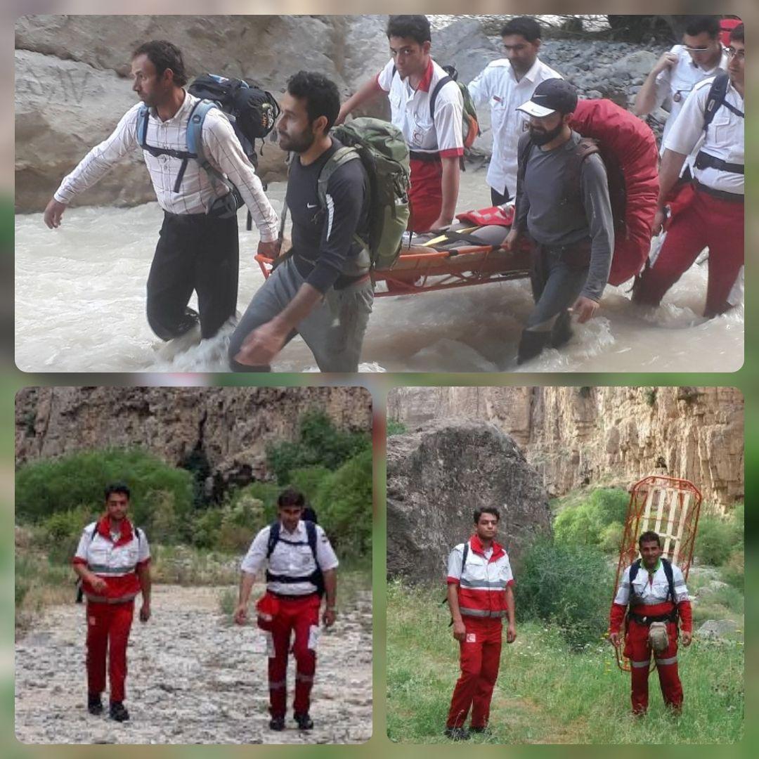 کوهنورد مصدوم در درگز نجات یافت