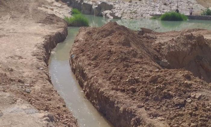 آب به بزرگترین انارستان متمرکز کشور رسید/ آبیاری ۳۰۰ هکتار از باغات سیلزده