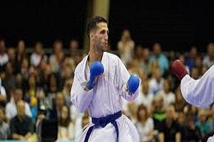 مرد طلایی کاراته قم ناکام ماند