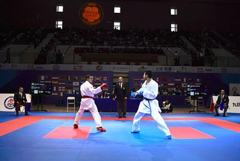 ملی پوشان استان قزوین در لیک جهانی کاراته