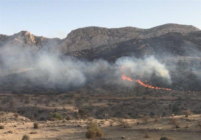 مهار آتش در عرصههای طبیعی نیازمند بالگرد است