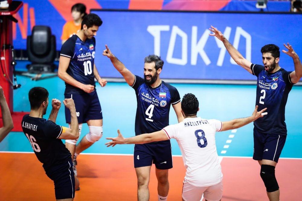ایران ۳- آرژانتین ۱ / ادامه روند نمایش اقتدار ایران در لیگ ملتهای والیبال