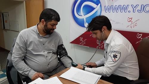 غرالگری فشار خون در باشگاه خبرنگاران