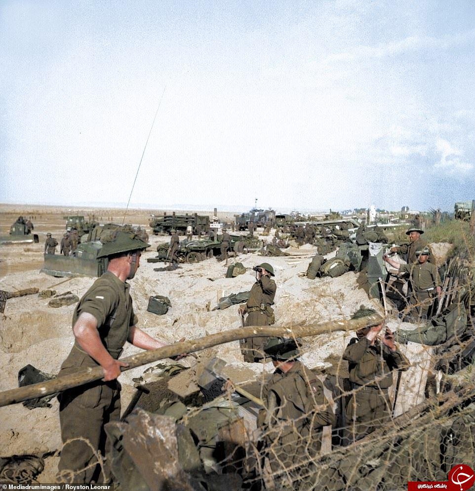 تصاویر رنگی بزرگترین عملیات آبی-خاکی جهان در نرماندی فرانسه