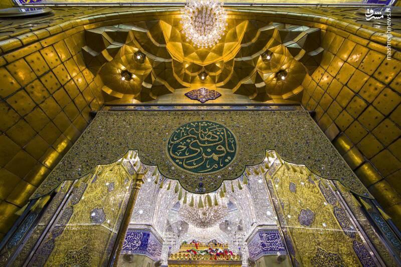 نمایی زیبا از حرم حضرت ابوالفضل (ع)