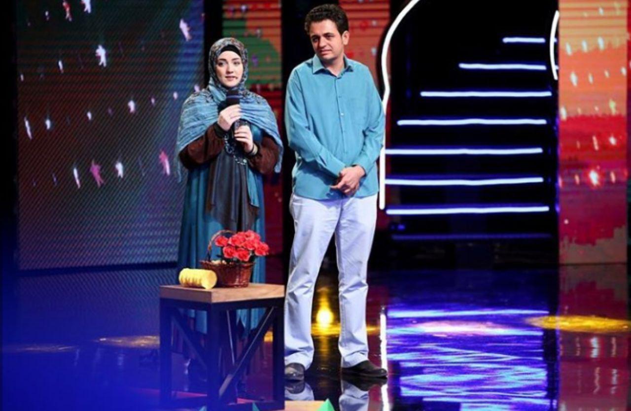 قهقهه احسان علیخانی در برنامه عصر جدید/ وقتی امین حیایی ذوقزده میشود/ شوخی داوران با آریا عظیمینژاد + فیلم