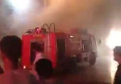 آتشسوزی در حرم حضرت معصومه (س) + فیلم