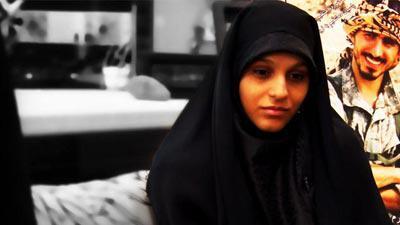 حس همسر شهید مدافع حرم در دیدار با رهبر انقلاب