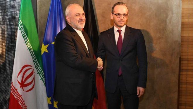 رایزنی نماینده ژرمن ها با ظریف در تهران
