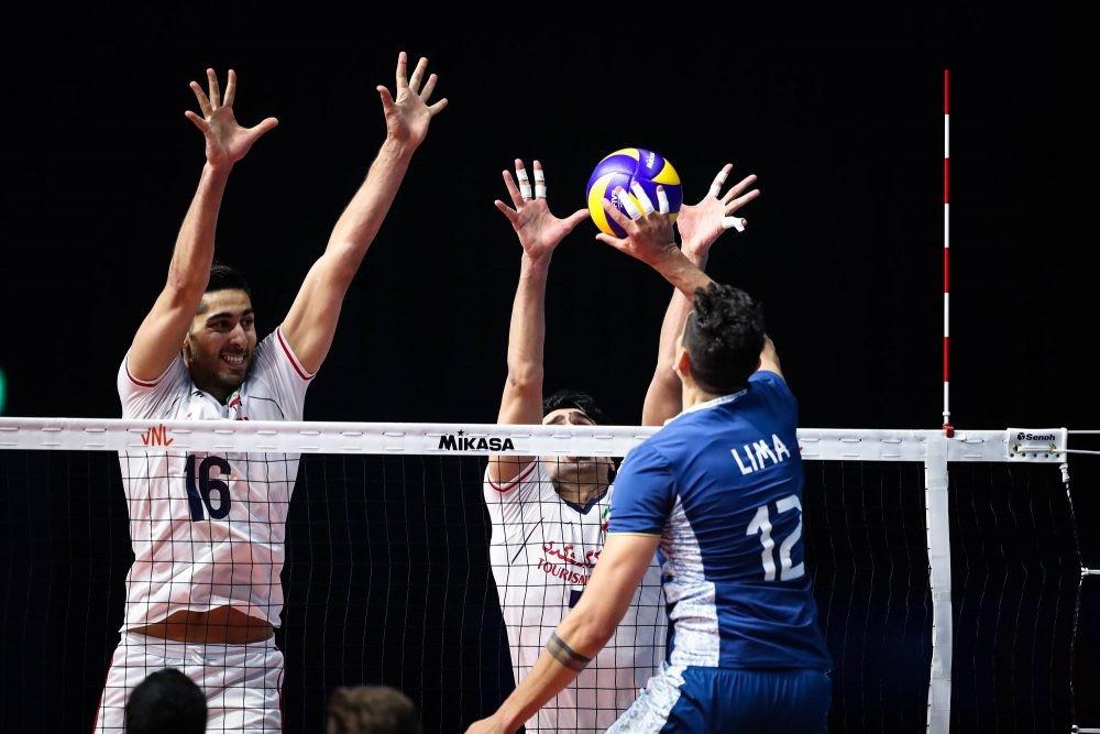 گزارش لحظه به لحظه هفته دوم لیگ ملتهای والیبال / ایران ۲ - ژاپن ۰