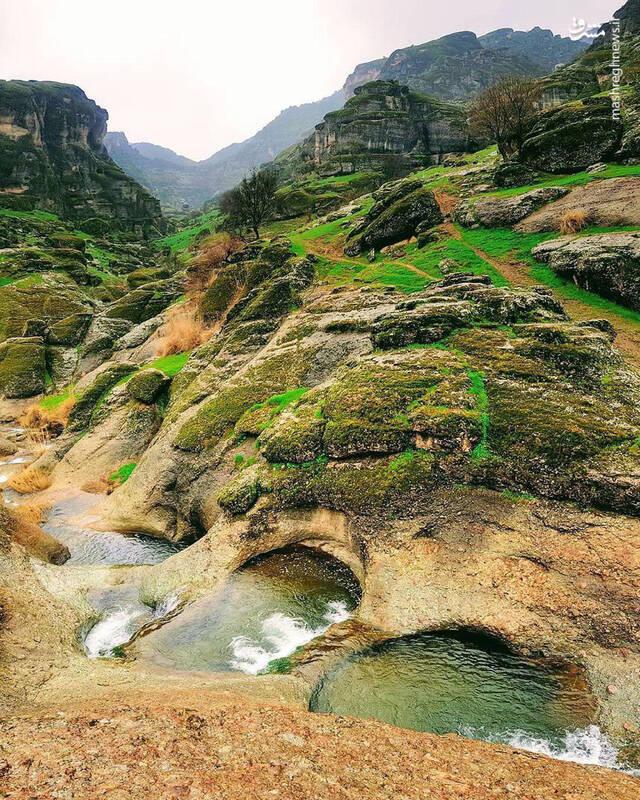 تصویری شگفتانگیز از طبیعت لرستان