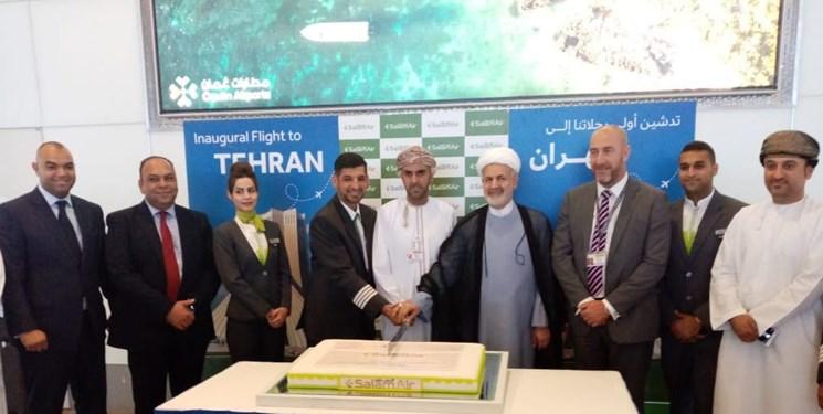 برقراری خط پرواز مستقیم جدید بین تهران و مسقط