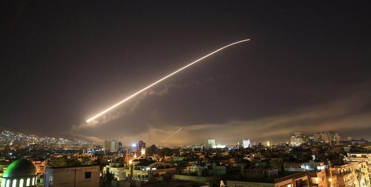 انهدام پهپاد نظامی در نزدیکی فرودگاه حماه سوریه