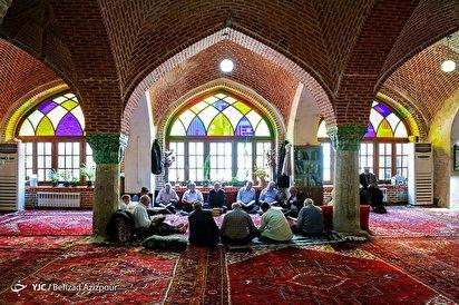 بهار قرآن در مساجد بازار تبریز