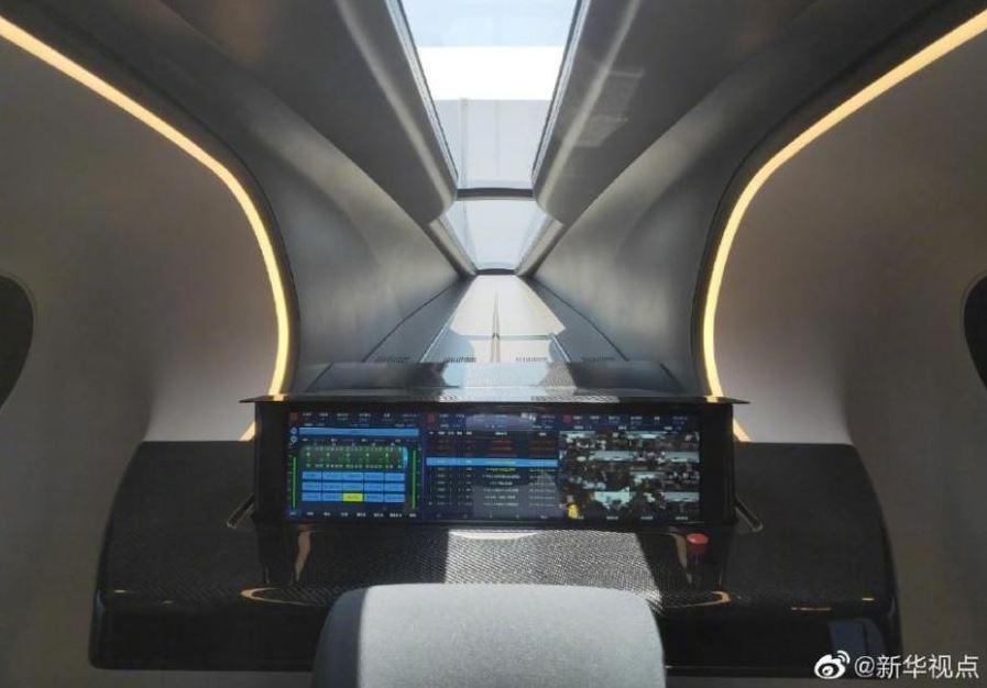 رونمایی از نمونه اولیه قطار مغناطیسی با سرعت ۶۰۰ کیلومتر در چین+ تصاویر