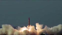 آزمایش موشک بالستیک جدید توسط ارتش پاکستان + فیلم