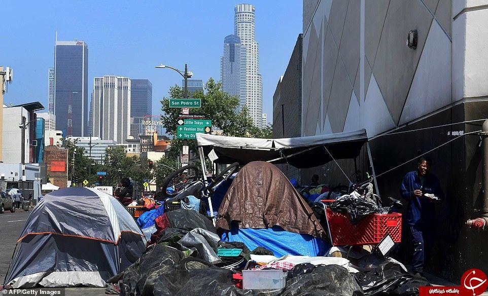 ناتوانی مقامات در مقابله با بحران زباله در دومین شهر بزرگ آمریکا