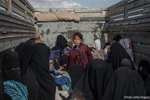 تحویل ۱۴ یتیم داعشی به فرانسه و هلند