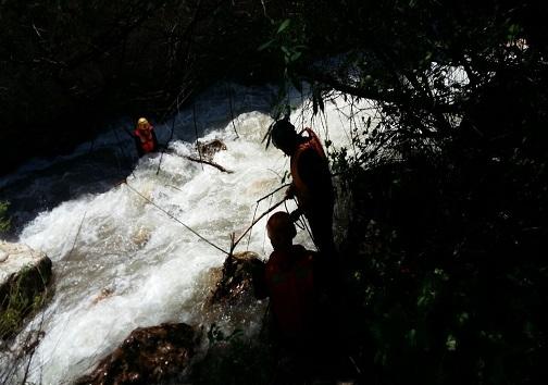 جسد کودک غرق شده در نینه رود الموت پیدا شد