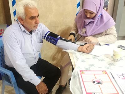 حضور فعال گروه پرستاری کشور در بسیج ملی کنترل فشار خون در قالب ۲۵۰ هزار شیفت ۶ ساعته
