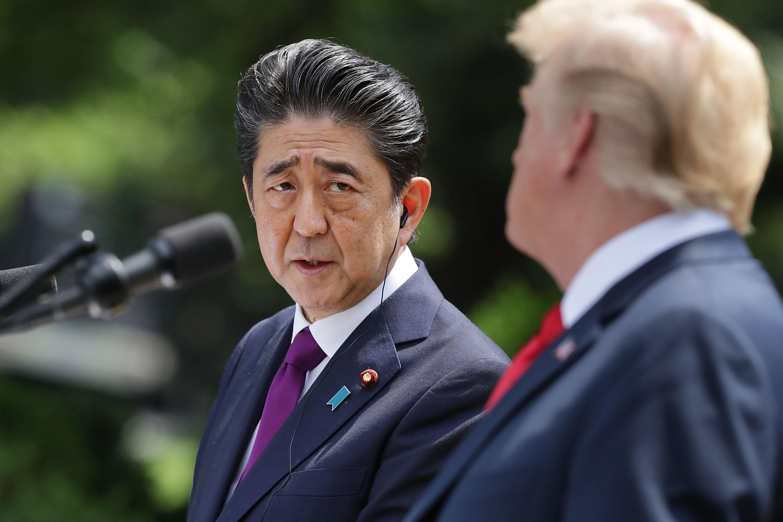 گفتگوی تلفنی نخستوزیر ژاپن و ترامپ درباره ایران در آستانه سفر آبه به تهران