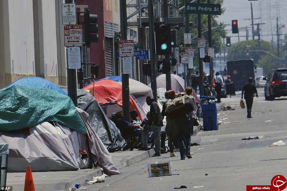 اینجا لسآنجلس است؛ دومین شهر بزرگ آمریکا