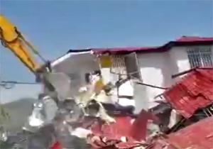 تخریب ۲۵ ساختمان سازی غیرمجاز در لواسانات + فیلم