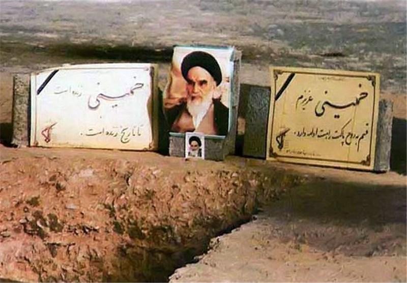ناگفته های مسؤول نظامی اجرای قطعنامه ۵۹۸ از روز دفن امام خمینی (ره) + عکس