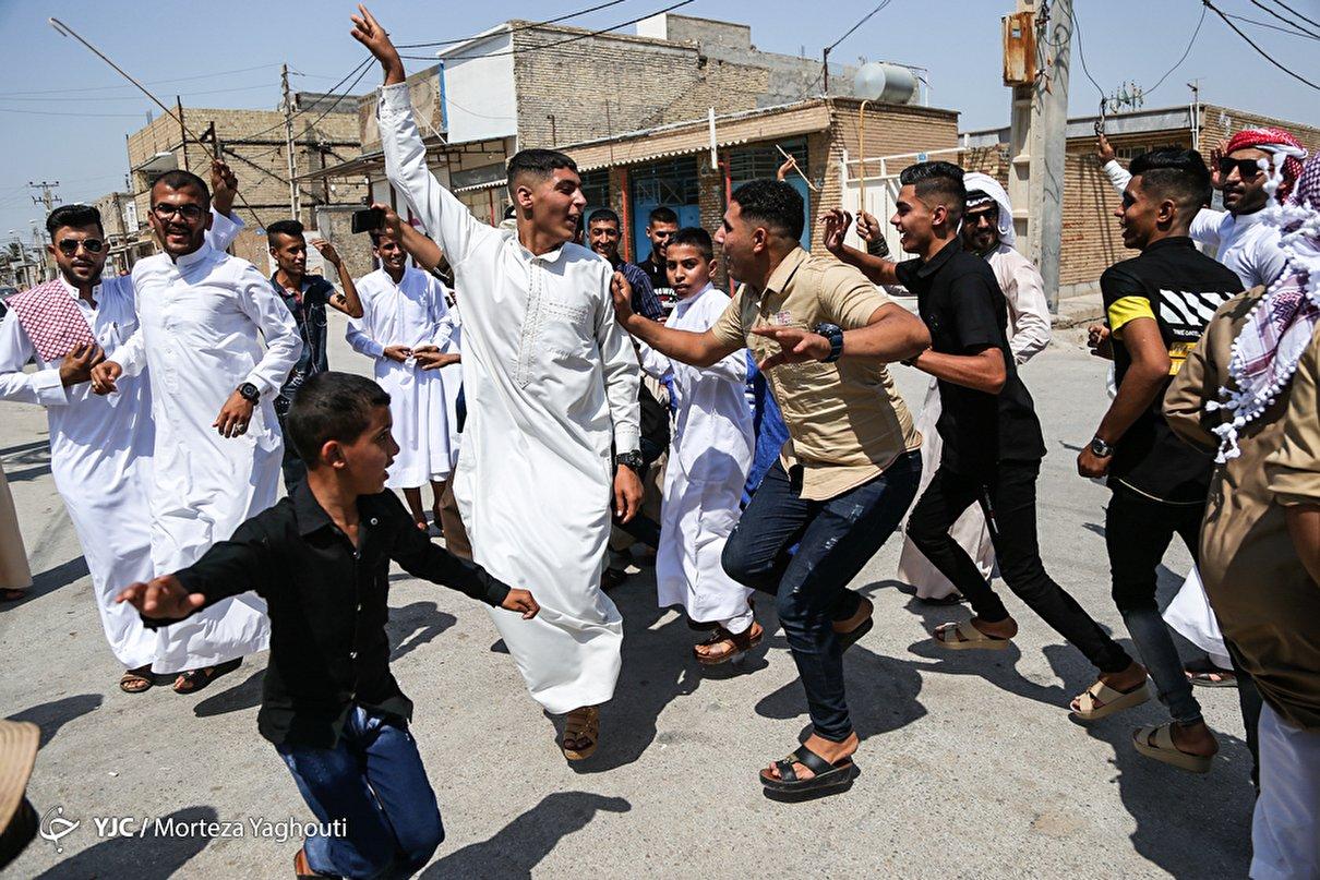 سنت عید دیدنی فطر در جنوب ایران