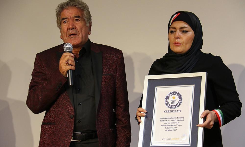 اولین بانوی ایرانی رکوردار گینس: پس از ثبت رکوردم در گینس هیچ مسئولی به من تبریک نگفت