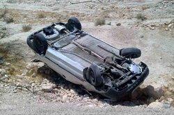۲ کشته و مصدوم در واژگونی مرگبار پژو پارس