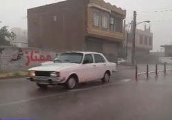 بارش رحمتالهی در چهاربرج + فیلم