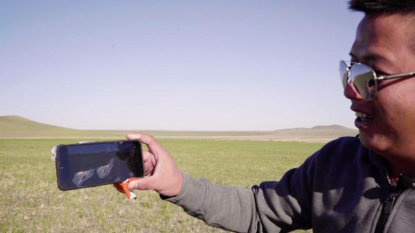 آزمایش مقاومت گوشی اوپو iQOO با سقوط از ارتفاع 31000 متری! +تصویر