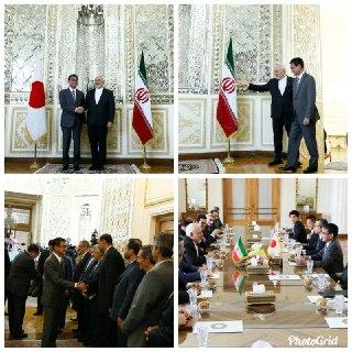 رایزنی های  وزرای خارجه ایران و ژاپن