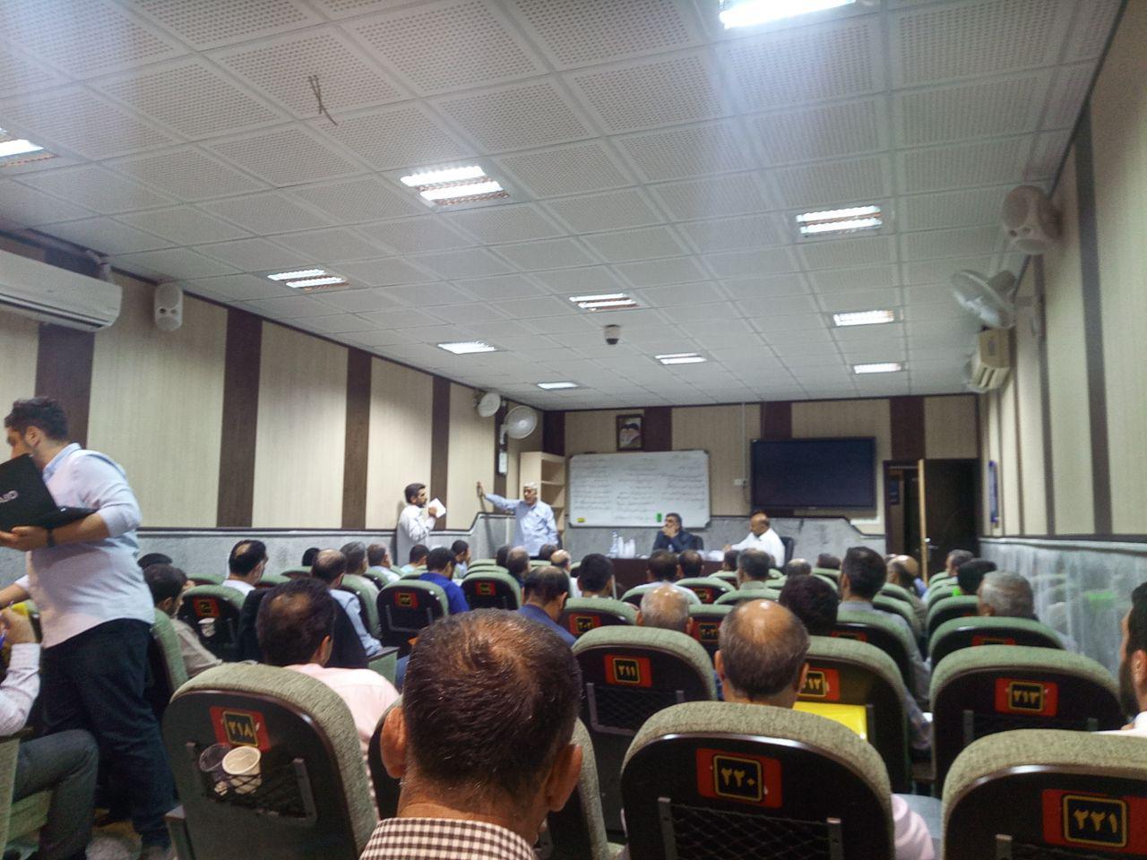 تشکیل کارگروههای پنج گانه در همایش هیئت رزمندگان اسلام
