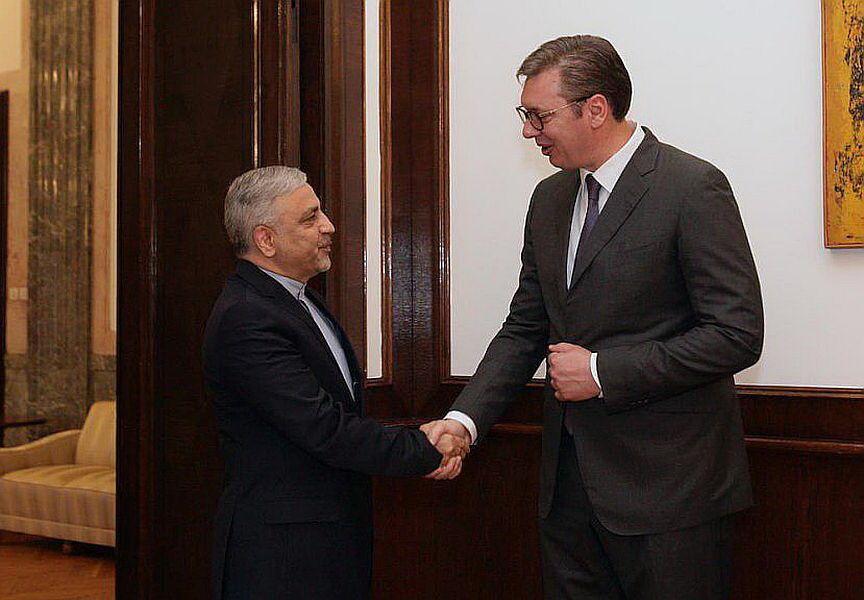 سفیر ایران با رئیس جمهور صربستان درباره توسعه مناسبات گفتوگو کرد
