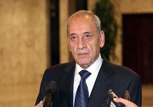 نبیه بری کشورهای عربی و عضو شورای همکاری خلیج فارس را به تفاهم با ایران فراخواند