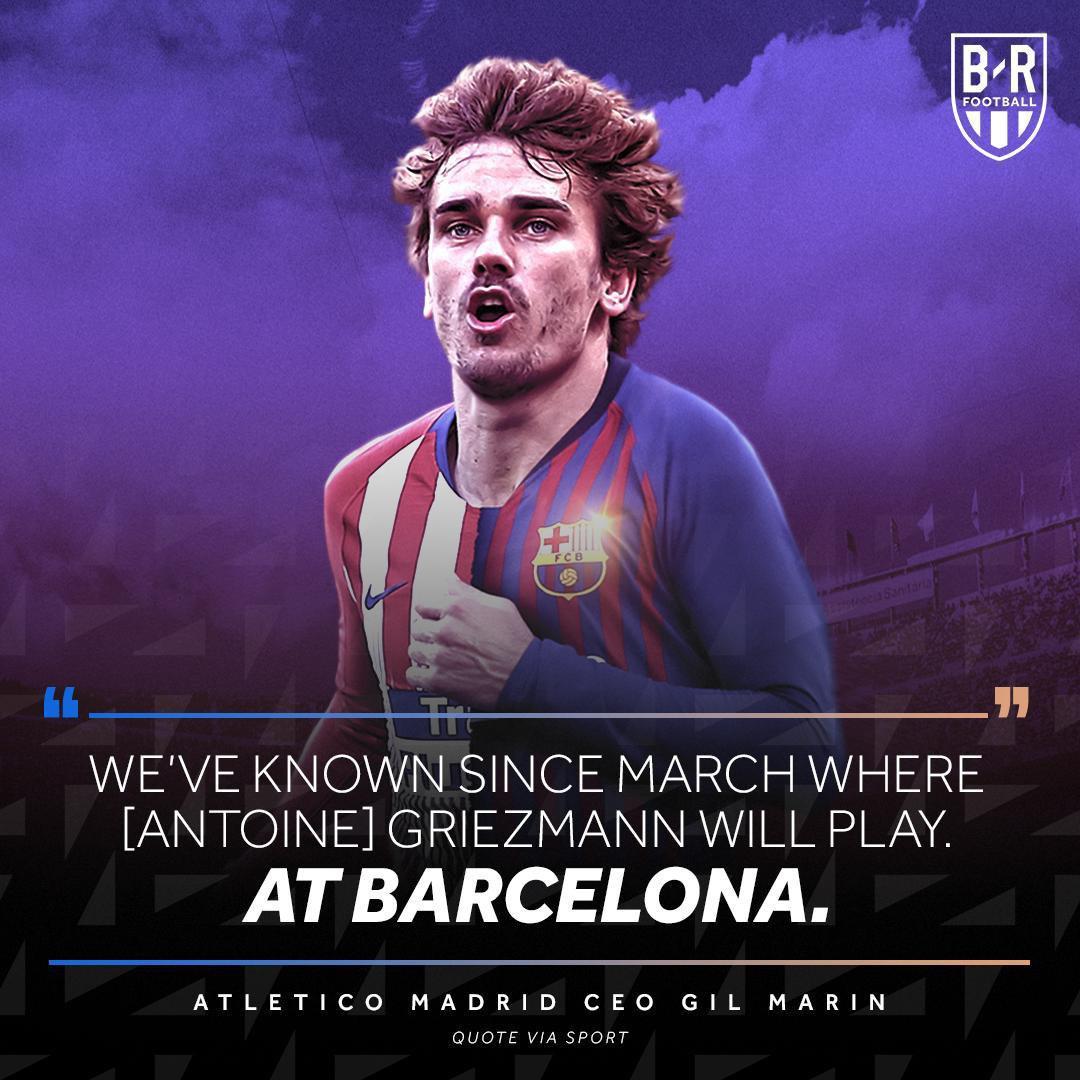 حضور گریزمان در بارسلونا قطعی شد