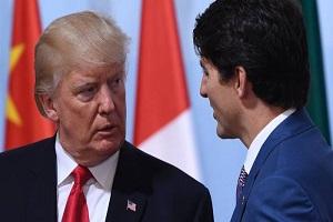 دیدار نخست وزیر کانادا با ترامپ به منظور اعمال فشار بیشتر بر چین
