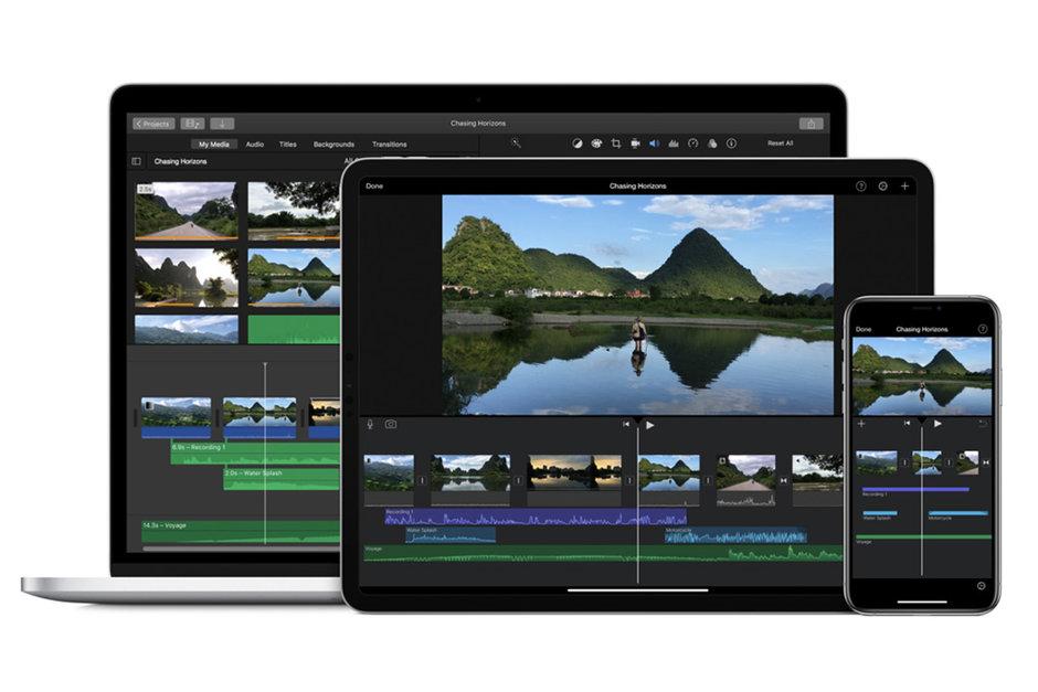 قابلیت صفحه سبز به نرمافزار iMovie اضافه شد