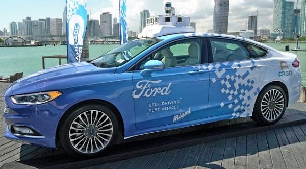 فورد جدیدترین خودرو خودران خود را در دیتریت آزمایش میکند