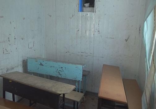 کلاس تمام آهنی/ روایت روزهای سرد و گرم تحصیل در کانکس